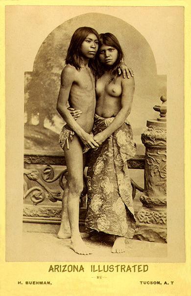 a young pima couple