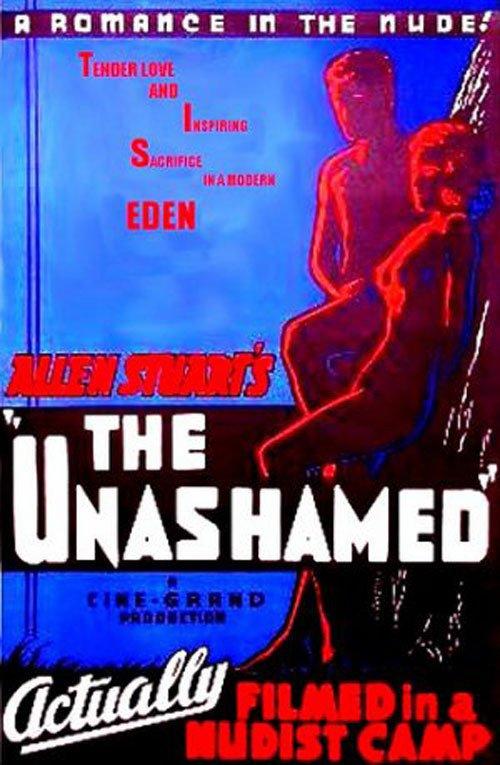 "Poster for the movie ""Unashamed"""