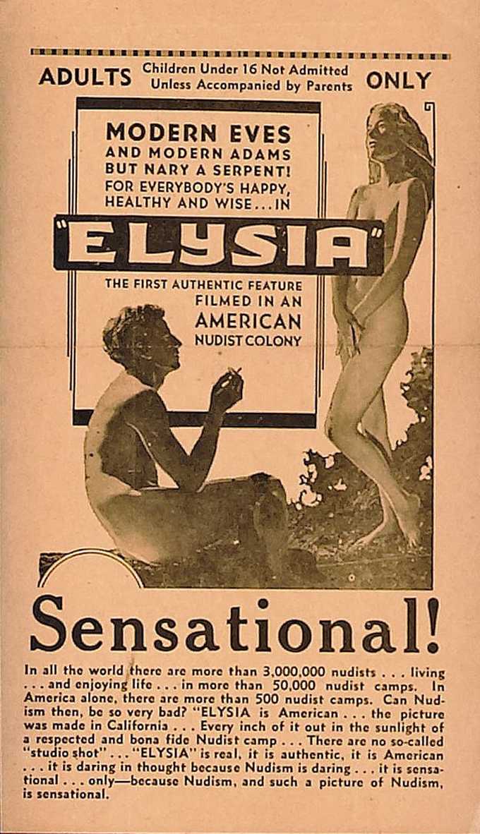Poster for the movie Elysia