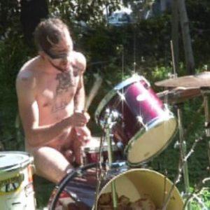blindfolded nude drummer 25837539