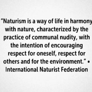 naturism is 195864301